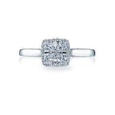 "Tacori ""Dantela"" Engagement Ring Setting"