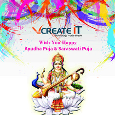 VCreate IT  wishes you all #happy #AyudhaPoojai  & #saraswathipooja