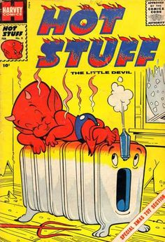 Special X Mas Toy Section - The Little Devil - Resting On It - Yellow Color - Harvey Trippy Wallpaper, Retro Wallpaper, Aesthetic Iphone Wallpaper, Cartoon Wallpaper, Aesthetic Wallpapers, Vintage Comic Books, Vintage Cartoon, Vintage Comics, Vintage Posters