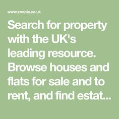 Search for property with the UK's leading resource. Browse houses and flats for sale and to rent, and find estate agents in your area. Triple Wardrobe, Crochet Converse, Homes England, Hay Feeder, Lovely Eyes, Estate Agents, Brunette Beauty, Flats For Sale, House Prices
