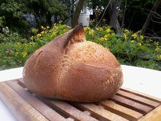 Kovászos burgonyás fehér kenyér   Betty hobbi konyhája Baked Potato, Potatoes, Bread, Baking, Ethnic Recipes, Food, Breads, January, Potato