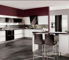 Colour Combination For Kitchen Laminates Laminate High Gloss White Petg Kitchen Cabinet Color Combination