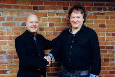 David Weiser et Guy Boucher retravailleront ensemble, en... (Photo fournie par BlackTie Ventures)