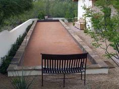 Bocce Ball Court Constructed by Bocce COurts Arizona