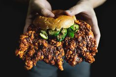 NASHED-UP HOT CHICKEN CUTLET SANDWICH