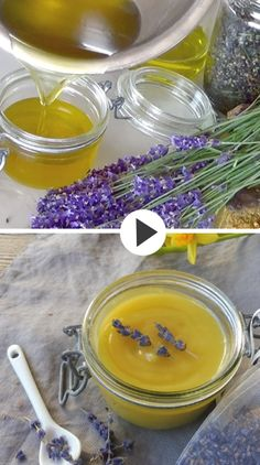 Lavender in our lavender salve is thanks to its soothing anti-inflammatory and antiseptic properties suitable to soothe and calm minor skin irritations and eczema, mild burn and insect bites. Grape seed oil is rich in antioxidants and vitamins and is very Herbal Remedies, Health Remedies, Home Remedies, Natural Remedies, Salve Recipes, Soap Recipes, Beeswax Recipes, Lip Balm Recipes, Prévenir Les Rides