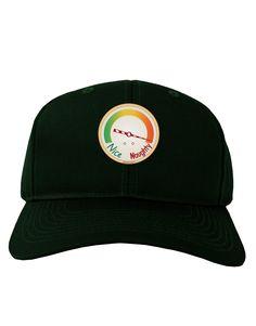 TooLoud Naughty or Nice Meter Naughty Adult Dark Baseball Cap Hat
