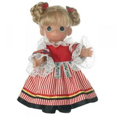 Precious Moments Cermaka of Czechoslovakia Doll, 2012 is Item No. PMC0849 at my site at http://www.dkkdolls.com/store. She is part of the 9 in. Children of the World series.