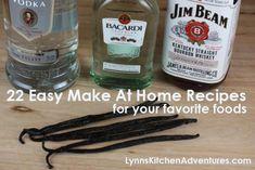 22 Make At Home Recipes