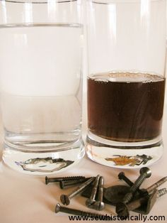How To Make Iron Liquor For Dyeing