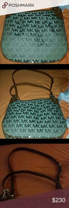 Authentic Michael kors bag Brand new beautiful bage with brown leather  Want to pay $130 ask how Michael Kors Bags Shoulder Bags