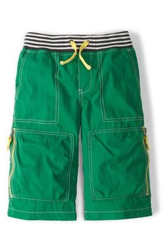 Mini Boden 'Techno' Mid Calf Shorts (Toddler Boys, Little Boys & Big Boys) available at #Nordstrom