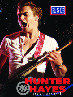 Hayes will be making moments on stage throughout his 2014 Tattoo (Your Name) Tour, along with his exclusive USO show stops for American troops in Norfolk and Royal Air Force Mildenhall, England, on Oct. 11, 2014.