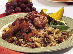 Cook a delicious rice blend with tart-sweet dried cherries alongside Cornish hens for a hassle-free dinner.