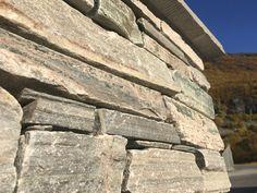 Dry wall with bricks Minera Oppdal.