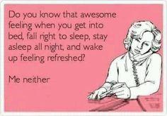 Sleep? What sleep?