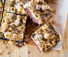Chocolate & hazelnut slice