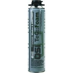 Henkel Corp 1443841 OSI WINTeQ Window and Door Foam Sealant by Henkel. $12.53. A single component, minimal expansion, low pressure polyurethane foam packaged in a pressurized metal container. It is specifically designed for use with the WINTeQ window installation system. The closed cell structure of the cured material provides an R factor of 5 per inch of foam, making it an efficient method for stopping air and moisture infiltration. Will not warp or deform win...