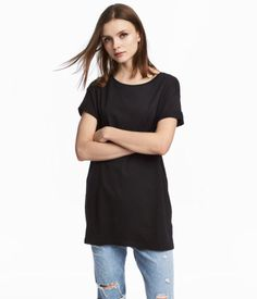 3bf0183470 H M Long T-Shirt GOES WITH  H M Hooded Sweatshirt Jacket