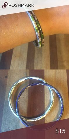 Vintage ceramic bracelets These are so amazing and hard to find now, love that they're ceramic! Jewelry Bracelets