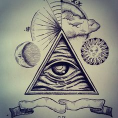 All seeing eye by So.Z