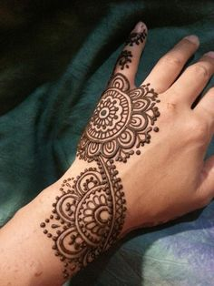 Henna design by myself