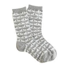 Horsey socks! ❤ #jcrewlove