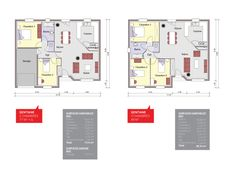 Nouvelle Maison Gentiane - Maison CTVL Floor Plans, Construction, Flooring, How To Plan, New Homes, Baby Newborn, Building, Wood Flooring, Floor