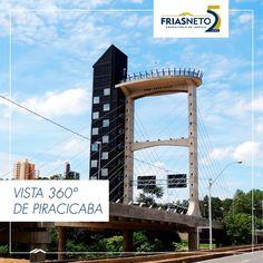 """Um atrativo turístico muito especial em Piracicaba é o elevador """"Alto do Mirante"""", que proporciona uma visão panorâmica da cidade. Funciona as sextas, sábados, domingos e feriados, das 10h às 18h. Foto: G1"""