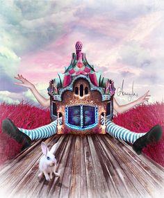 Wonderland by Anemyah.deviantart.com on @deviantART