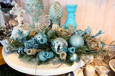 bolas de natal azul turquesa - Pesquisa Google