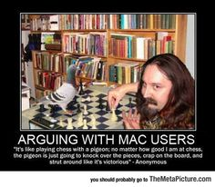 Funny Pictures: Arguing With Any Mac User