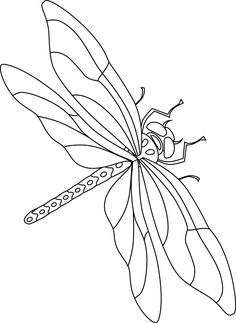 Colouring Pages, Coloring Books, Animal Drawings, Art Drawings, Embroidery Patterns, Hand Embroidery, Dragonfly Illustration, Animal Stencil, Butterfly Drawing