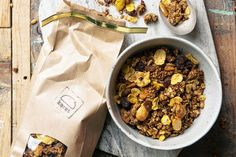 Granola Granola, Cereal, Food And Drink, Breakfast, Desserts, Morning Coffee, Tailgate Desserts, Deserts, Postres