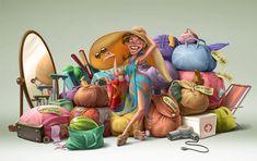 Family Chery by Oscar Ramos, via Behance