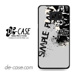 Simple Plan Crews Art DEAL-9614 Samsung Phonecase Cover For Samsung Galaxy Note 7