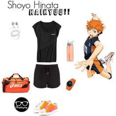 """Shoyo Hinata - Haikyuu!! - Fitness Friday"" by closplaying on Polyvore Anime Inspired Outfits, Disney Inspired Fashion, Character Inspired Outfits, Themed Outfits, Disney Fashion, Disney Bound Outfits, Punk Outfits, Anime Outfits, Mode Outfits"