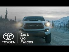 A Toyota ad with nice grade for winter driving footage. All cool tones except for the very top end of the highlights, leaving the headlights and sun warm. To help recreate this, use the 4-way colour corrector in Looks and adjust the highlight curve to only affect the sky / headlights.