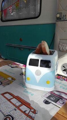My Volkswagen toaster tostadora