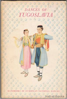 """""""First edition hardback in the Handbooks Of European National Dances series published under the auspices of The Royal Acadamy Of Dancing and the Ling Physical Education Association, 1952."""