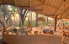 andBeyond Sandibe Okavango Safari Lodge. TravelPlusStyle.com