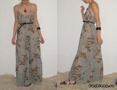 МК летнего платья / летнее платье футляр