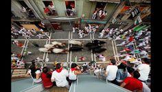 España: Así fue la 'encerrona' de San Fermín 2013 (FOTOS)