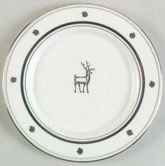 Tidbit Plate in the Donner Road pattern by Lenox China