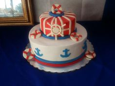Cake, Desserts, Food, Nautical Party, Tailgate Desserts, Deserts, Kuchen, Essen, Postres