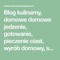 Wiem co jem Nutella, Blog, No Bake Desserts, Pies, Blogging