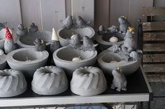 Winterarbeiten sind fertig - fleißig im Beton gewühlt - Seite 1 - Deko & Kreatives - Mein schöner Garten online
