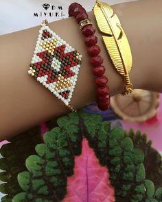 Etnik model _________________________________ Bilgi ve sipariş için Dm ulaşabilirsiniz ✨ ✨#miyuki #trend #jewelry #moda #accessories #aksesuar #bayan #takı #bileklik #bracelet #design #tasarim #style #tarz #kombin #red #like4like #şık #bohem #etnik #model #color #fashion #gold #beads #art #instagood#peyote#instago #10marifet