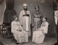 1880  - A Jewish family from Cochin, India