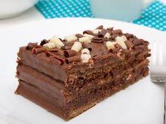 Marquesa de chocolate con galletas María